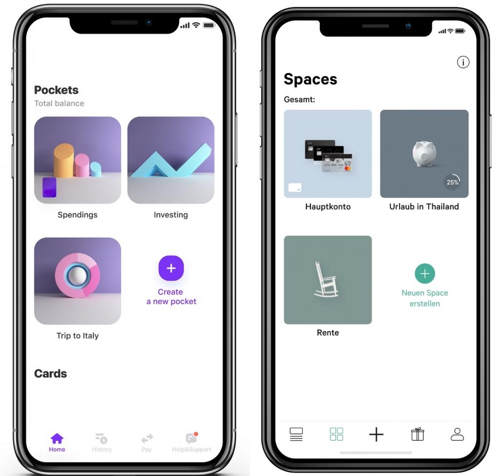 Vivid & N26 als App