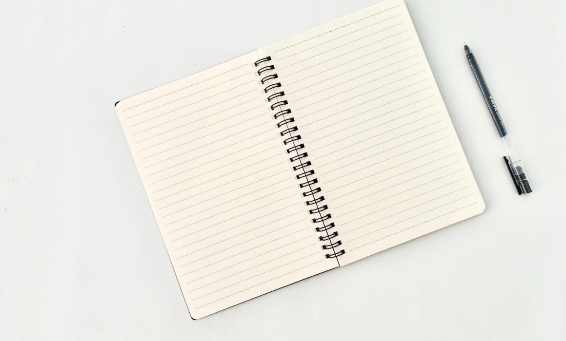 Tagebuch + Stift