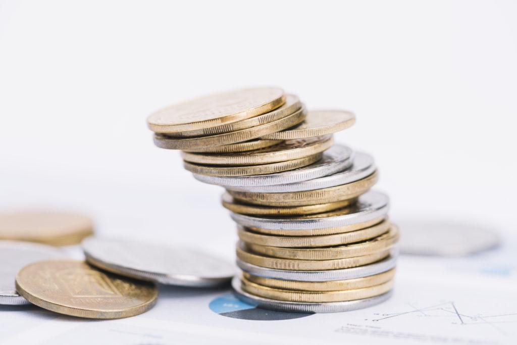 Gold und Silbermünzen