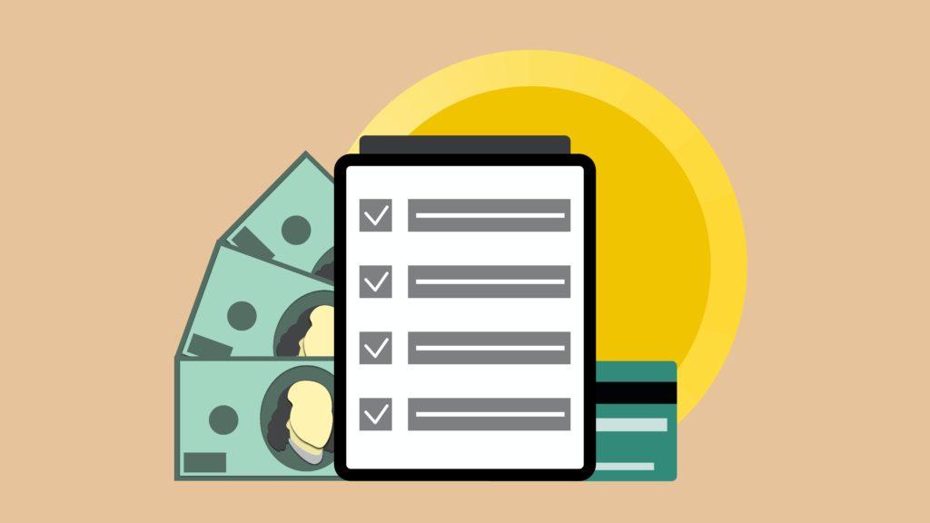 Liste und Geld