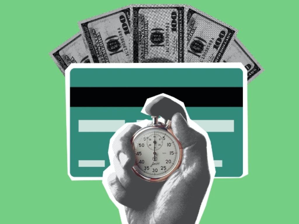 Stoppuhr und Geld